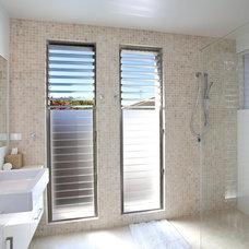 Modern Bathroom by SBT Designs