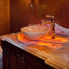 Eclectic Bathroom by Custom Dreams Construction Group