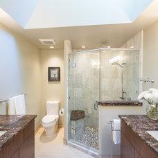 Contemporary Bathroom by MAC Renovations LTD.