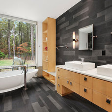 Modern Bathroom by William Roy Designer Kitchens