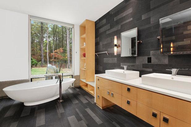 Contemporary Bathroom by William Roy Designer Kitchens