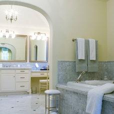 Traditional Bathroom by TATUM BROWN CUSTOM HOMES