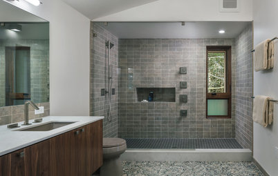 New This Week: 10 Bathrooms With Wonderful Walk-In Showers