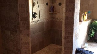arch entry shower