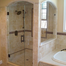 Traditional Bathroom by Precision Shower Doors, Inc.