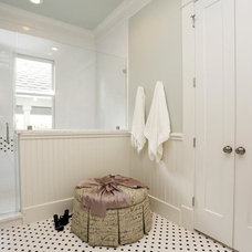 Traditional Bathroom by Jamie House Design