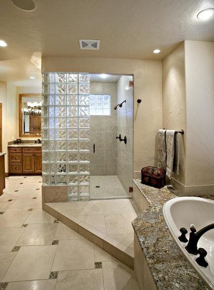 Traditional Bathroom by Archevie Design