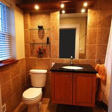 Contemporary Bathroom by Harmoni Designs, LLC