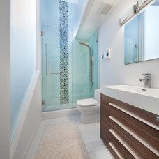 Bathroom by Anthony Wilder Design/Build, Inc.