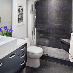 bathroom by Anthony Wilder Design/Build, Inc.