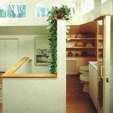 Traditional Bathroom by Diana Abrashkin AIA