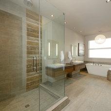 Contemporary Bathroom by Architectural Designs