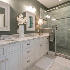 Craftsman Bathroom by Architectural Designs