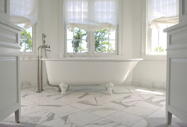 Traditional Bathroom by Ed Ritger Photography