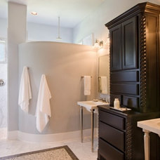 Modern Bathroom by Sitterle Homes