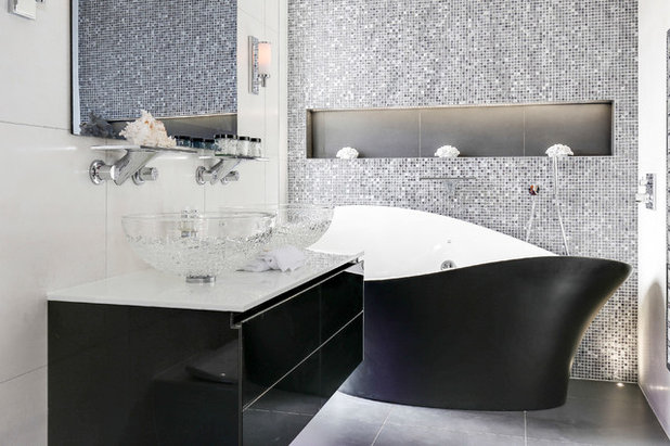 Contemporary Bathroom by Amara Property Investments Ltd