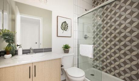 New This Week: 6 Small-Bathroom Design Ideas