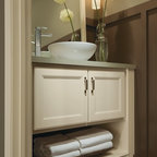Aristokraft Winstead Mudroom Cabinets - Transitional - Entry - other ...