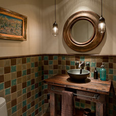 Southwestern Bathroom by Angelica Henry Design