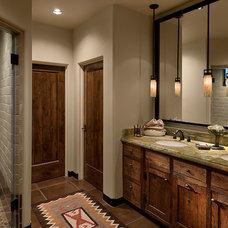 Southwestern Bathroom by Angelica Henry Design