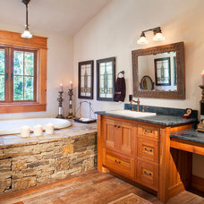 Rustic Bathroom by Woodco Millwork Ltd