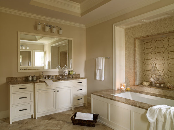 Traditional Bathroom by KMD Interiors