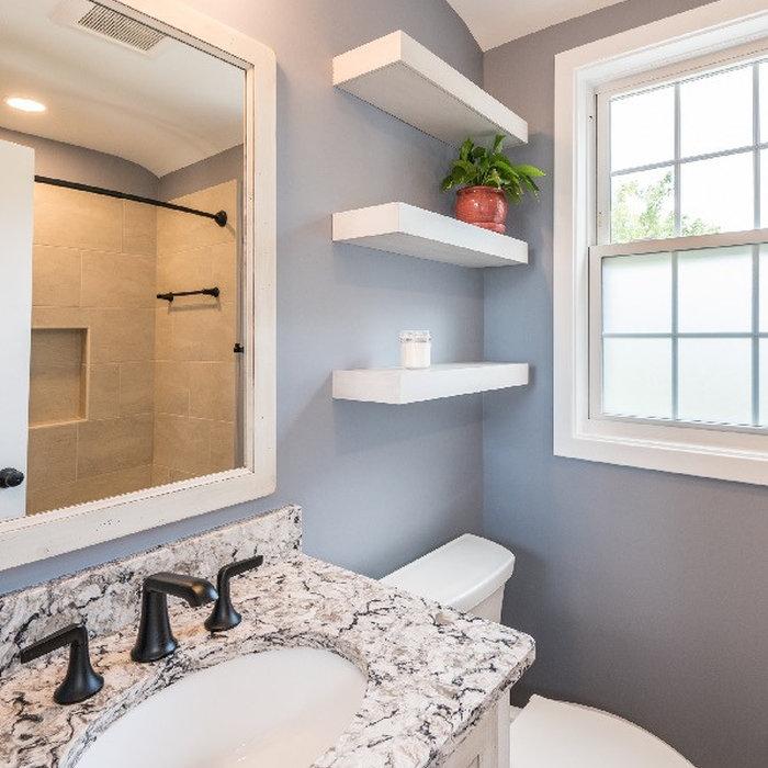 Arlington Farmhouse Bathroom Remodel