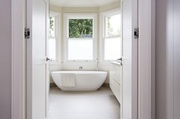 Cute Contemporary Bathroom by Zulufish
