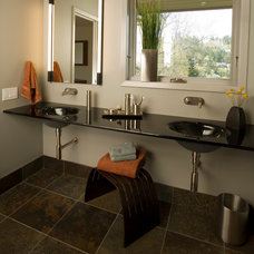 Contemporary Bathroom by Square Deal Remodeling Co.