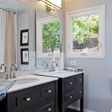 Traditional Bathroom by Sean Gaston