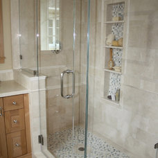 Traditional Bathroom by John Cinti Designs, LLC