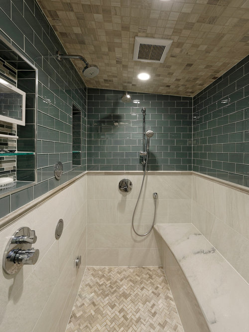 Two Shower Heads Design Ideas Remodel Pictures Houzz