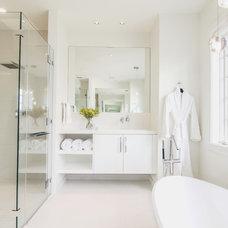 Contemporary Bathroom by MILLER/Custom Builders