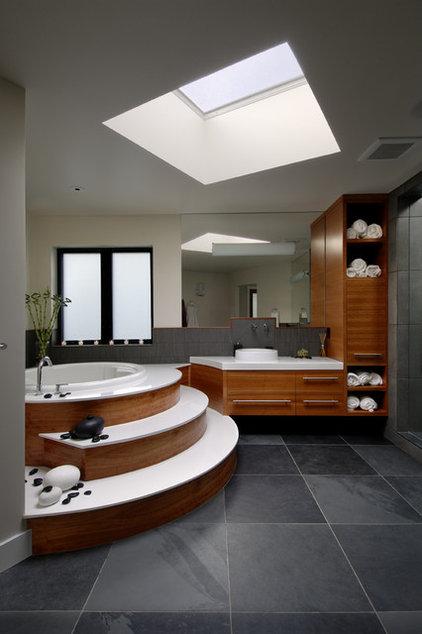 Contemporary Bathroom by Keith Baker Design Inc.