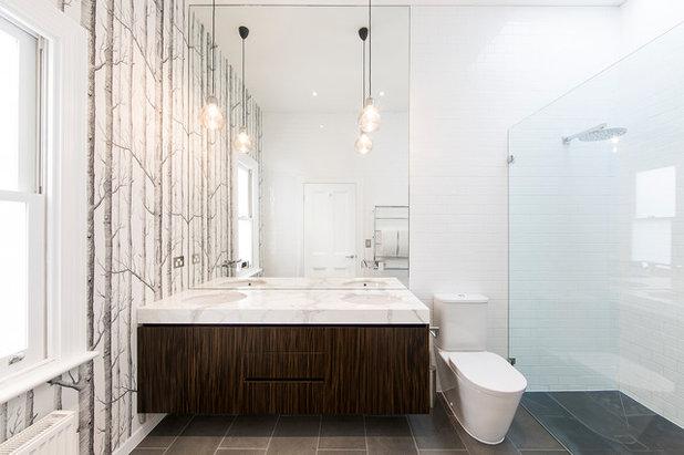 Contemporary Bathroom by Mitsuori Architects