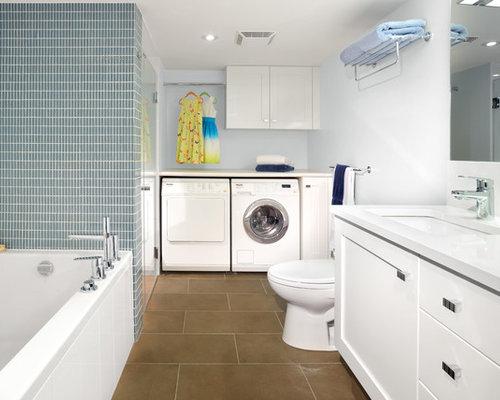 bathroom laundry home design photos