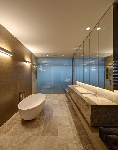 Contemporary Bathroom by SJB Architects