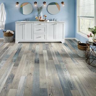 75 Beautiful Gray Vinyl Floor Bathroom Pictures Ideas April 2021 Houzz