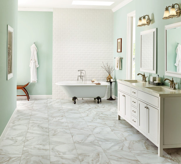 Contemporary Bathroom by Abbey Carpet & Floors of Weymouth