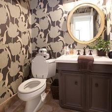 Contemporary Bathroom by Sally Wheat Interiors