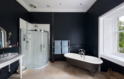 10 Bathrooms That Look Great in Black
