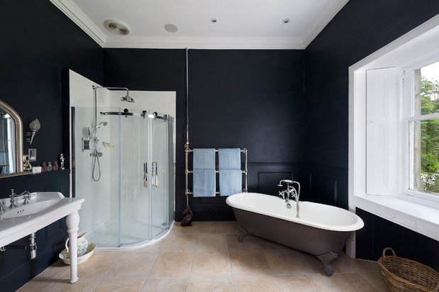 Trend Traditional Bathroom by THCL Building and Renovation