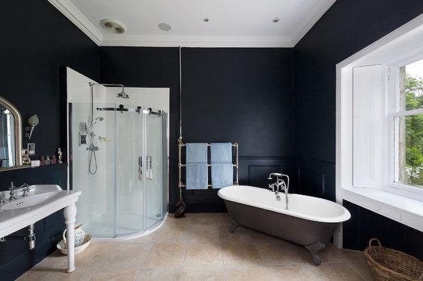 Traditional Bathroom Arnot Tower Renovation - Kinross-shire