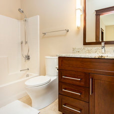 Traditional Bathroom by Homes by DePhillips