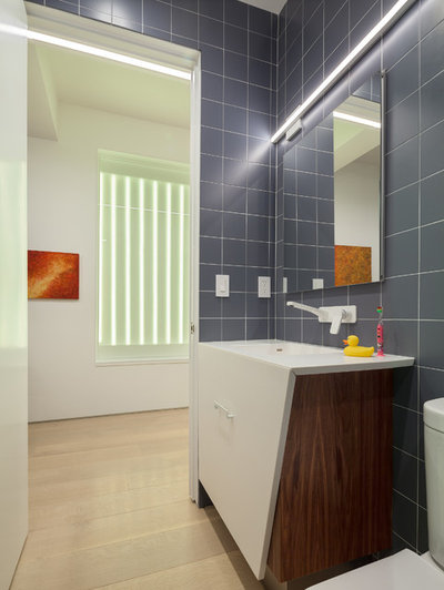 Contemporary Bathroom by Andrew Mikhael Architect