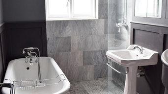 Art Deco Bathroom Conversion