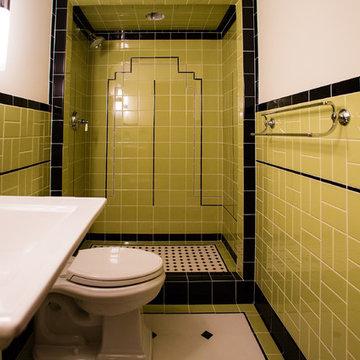 Art Deco Bathroom - Elk River