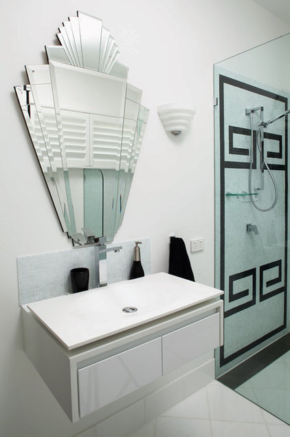 Modern Bathroom by French Interior Design Studio