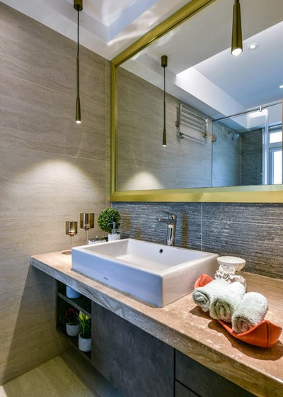 American Traditional Bathroom by Aum Architects