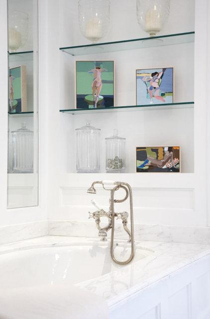 Transitional Bathroom by Blue Tangerine Art